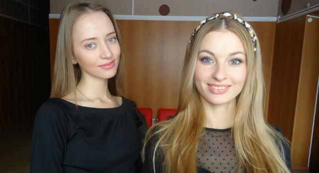 Анастасия Рябова (слева) и Ольга Халявина