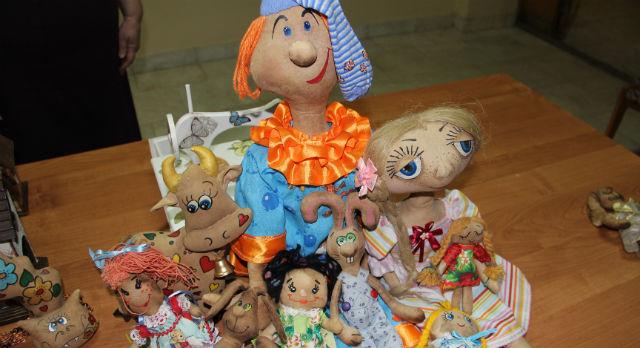 Чердачные куклы Галины Долгих