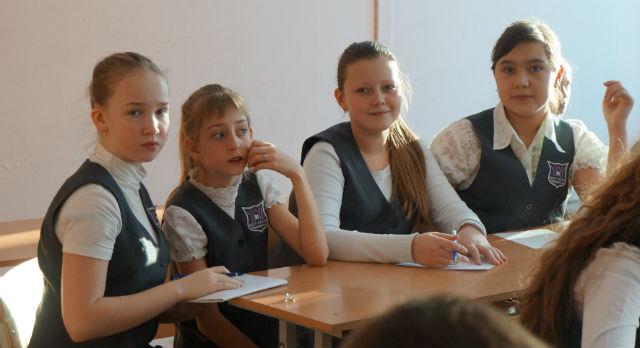 Шестиклассники школы №4