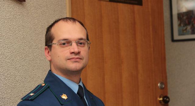 Евгений Андриянов, помощник прокурора