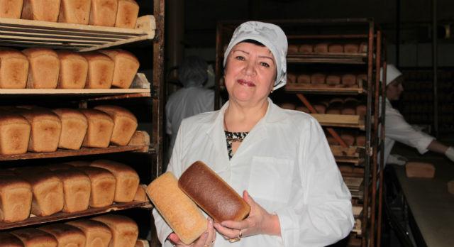 Татьяна Гайтан, бригадир на хлебокомбинате