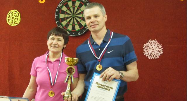 Умугульсум Смирнова и Сергей Лобанцов