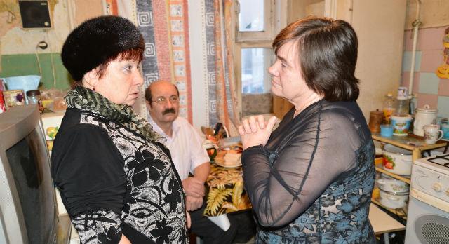 Людмила Ермакова (справа) и Галина Бабушкина