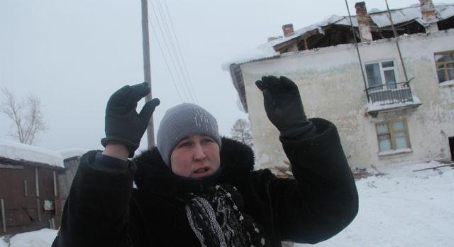 Ольга Панкратьева сначала даже не поняла, что крыша провалилась прямо над ее квартирой.