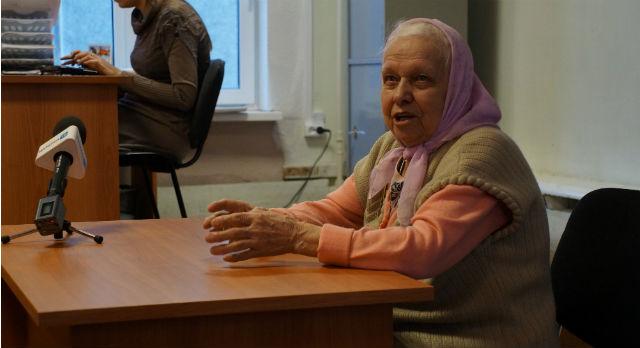 Ветеран Раиса Харская говорит, что в годы войны жить было лучше. Наверное, потому, что никому не приходилось доказывать в суде, что ты работаешь на благо Родины.