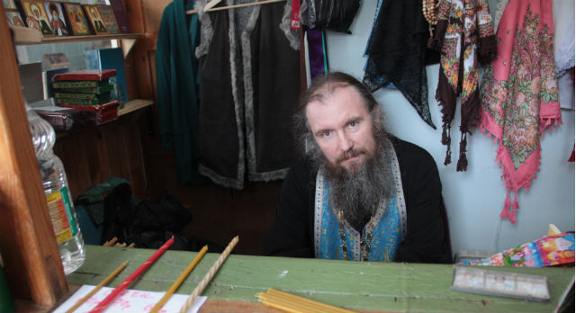 Отец Михаил Фото © Анастасия Пономарева