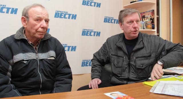 Отец и брат Сергея Галича — Степан Иванович и Евгений