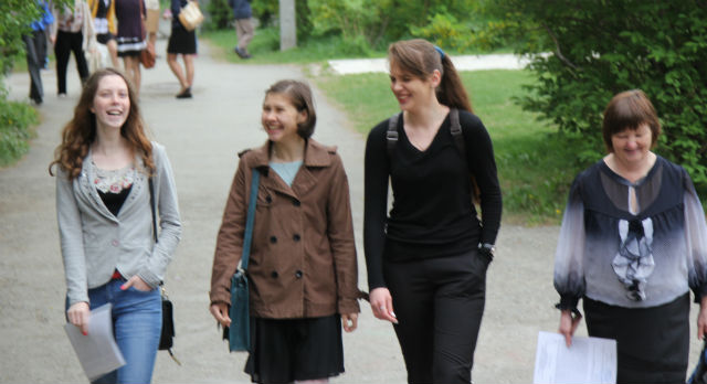 Выпускницы школы №5