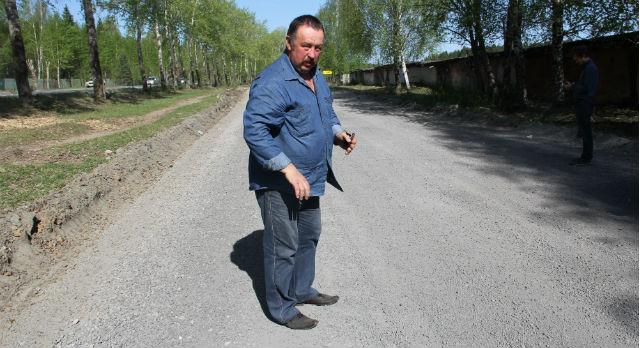 Владимир Терехов уверен, что фракция, которой отсыпали дороги в Первоуральске ни что иное, как отходы производства ЭСПК.