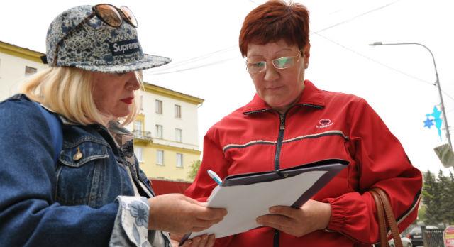 Ольга Варганова стала одним из активистов акции по сбору подписей за возвращение шествия.