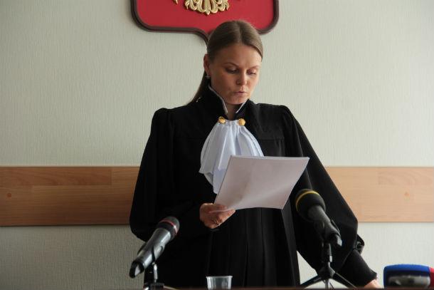 Чтение приговора заняло полтора часа. На фото — судья Екатерина Елисеева Фото Анны Неволиной