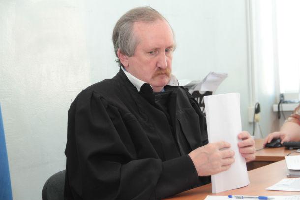 Судья Злобин