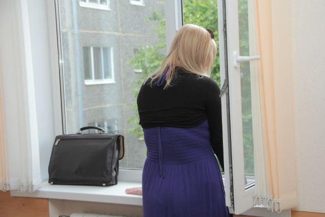 После оглашения приговора Анастасия Нестерова не смогла сдержать слез Фото Анны Неволиной
