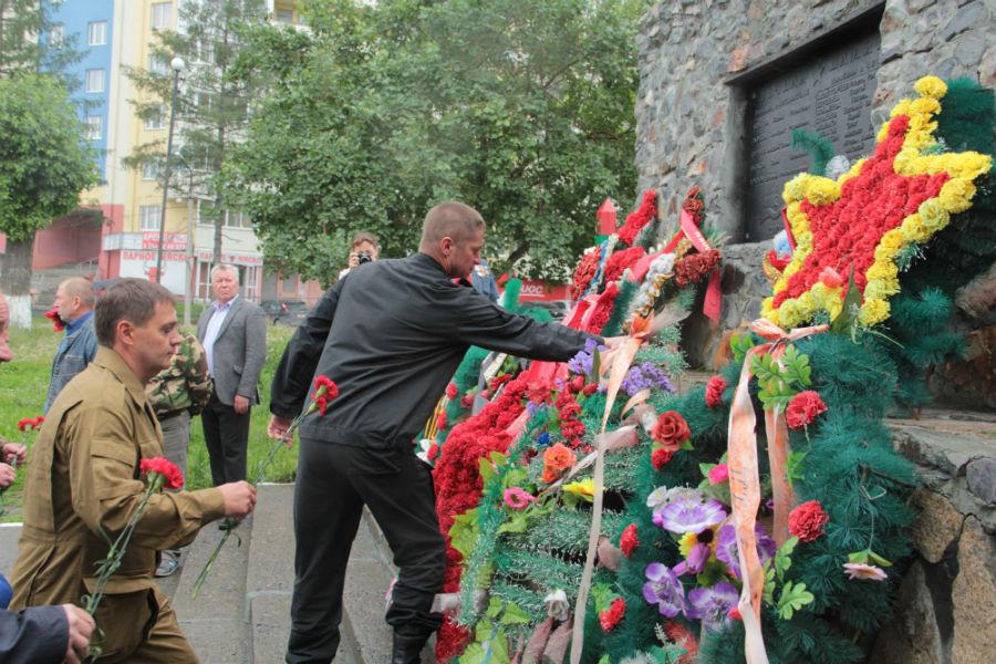 Первоуральцы отметили День ветеранов боевых действий