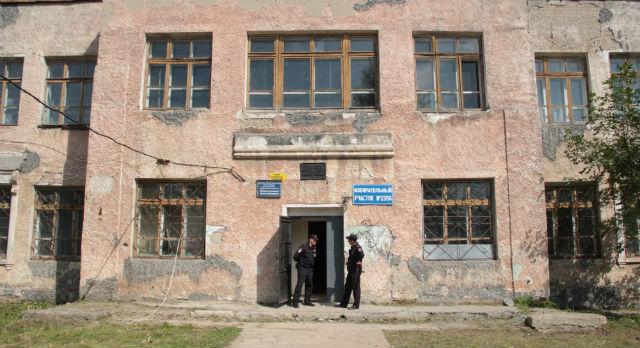 Беженцев из Украины расселили в здание школы первоуральского интерната. Фото Анны Неволиной