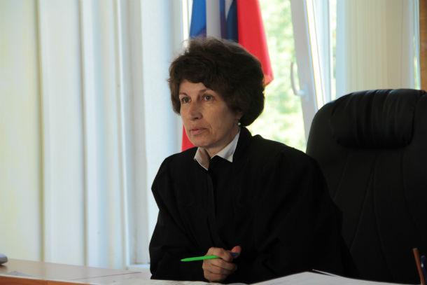 Судья Татьяна Опалева Фото Анны Неволиной