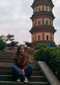 Ольга Баленко в городе Гуанчжоу