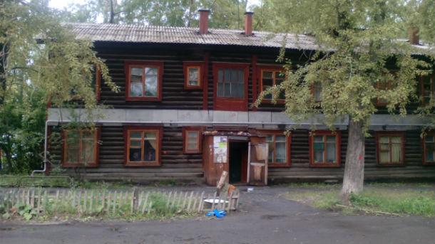 Хромпиковский барак Фото Елены Красулиной