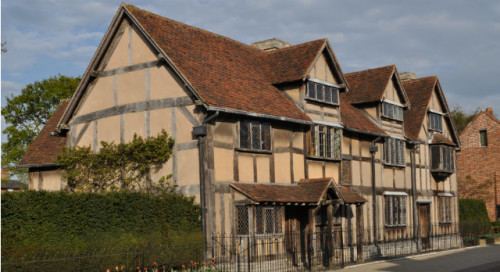 Дом, в котором родился Шекспир Фото предоставлено Игорем Цалером