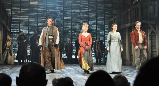 """Спектакль """"Генрих IV"""" в Шекспировском театре. Фото предоставлено Игорем Цалером"""