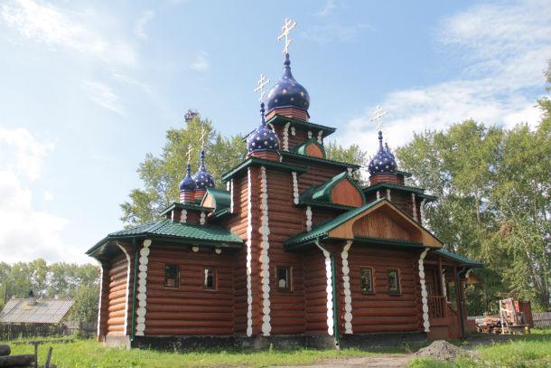 Церковь Николая и Александры, царственных страстотерпцев Фото Анны Неволиной