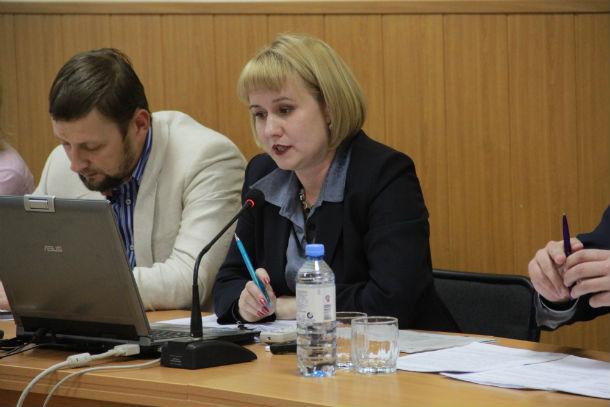 Начальник финуправления администрации Светлана Гладкова Фото Анны Неволиной