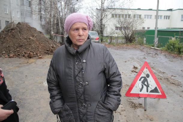 Ириада Козлова, жительница дома №3 по улице Талица Фото Анны Неволиной