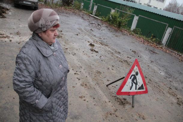 Жительница дома №3 по улице Талица Татьяна Вертлюгова Фото Анны Неволиной