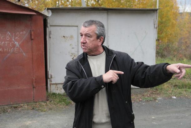 """Сергей Шведов, председатель гаражного кооператива """"Лесной"""""""