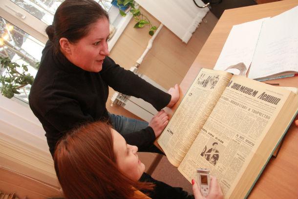 Любопытного в подшивке 83-летней газеты так много, что редактор Татьяна Курганова считает, что таким образом можно изучать историю родного Первоуральска