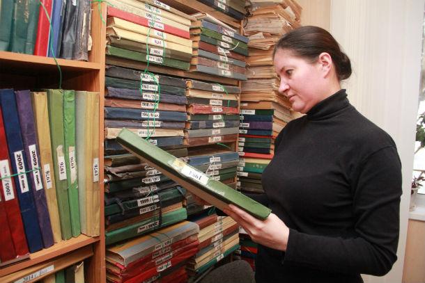 Редактор Татьяна Курганова намерена отцифровать внушительный архив  газеты