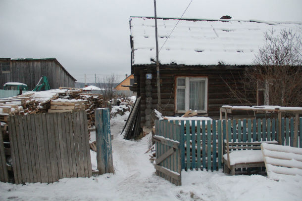 Дом, в котором жил пропавший подросток Фото Анны Неволиной
