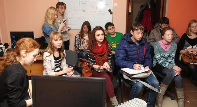 Первое организационное собрание в молодежке Фото Анастасии Пономаревой