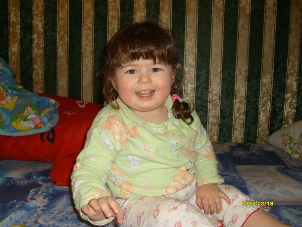 Аленка Дубровина — фотография двухлетней давности Фото предоставлено семьей Дубровиных