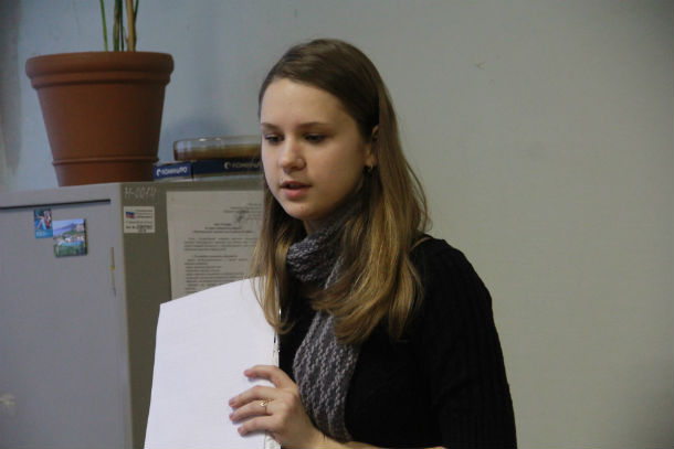 Ирина Гусева — студентка-заочница  второго курса УрГЭУ Фото Анны Неволиной