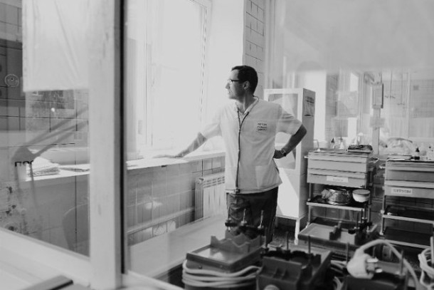 Вадим Кучумов, заведующий кардиологическим отделением городской больницы Фото из архива редакции