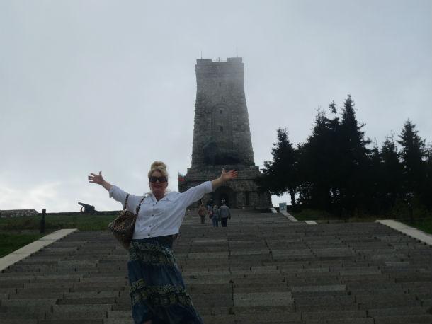 На вершине Шипкинского перевала Фото из архива Ольги Варгановой