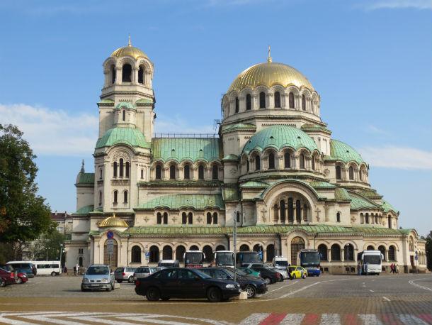 Православный патриарший кафедральный собор Александра Невского в центре Софии Фото предоставлено Ольгой Варгановой