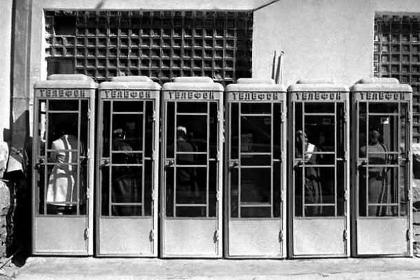 Советские телефонные автоматы Фото с сайта narubezhe.ru
