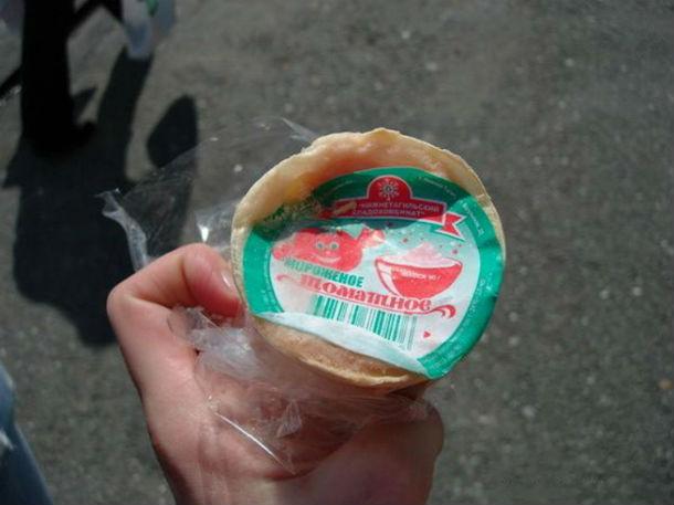 Фруктовое мороженое советское