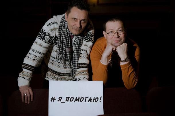 Идейные вдохновители проекта — Артур Бушманов и Дмитрий Жильцов. Без этих людей невозможно было бы собрать исполнителей на одной сцене Фото из архива редакции