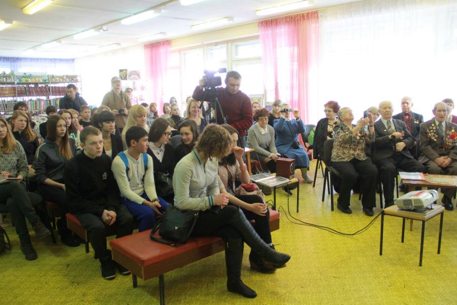 На мероприятие были приглашены учащиеся политехникума и старшеклассники различных школ города.