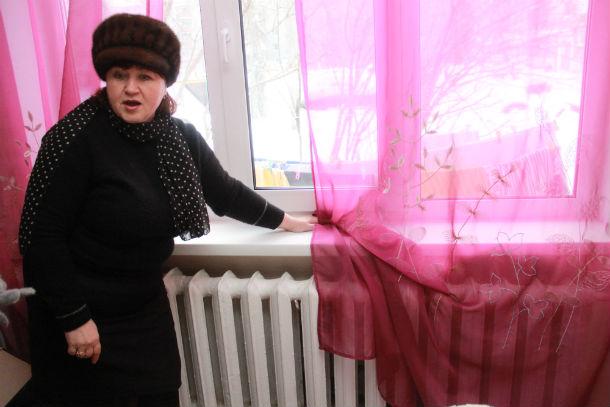 Батареи в квартире Натальи Постики нагреваются максимум до 37 градусов и не могут обогреть три комнаты Фото Анны Неволиной