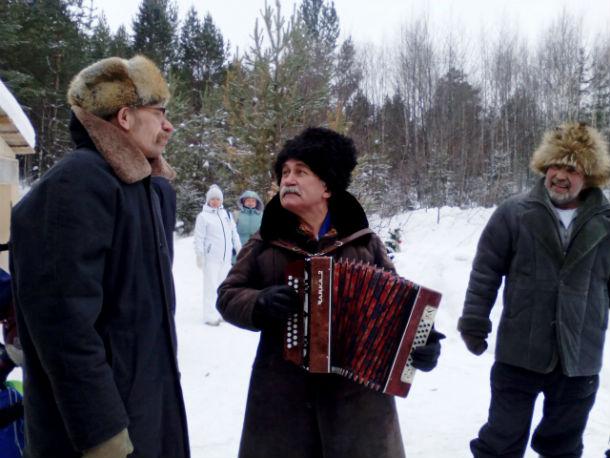 Гордость и голос встреч на поляне — Сергей Саблин Фото Елены Красулиной