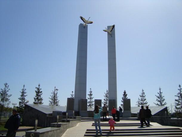 Мемориал в Верхней Пышме Фото предоставлено Анной Боковец