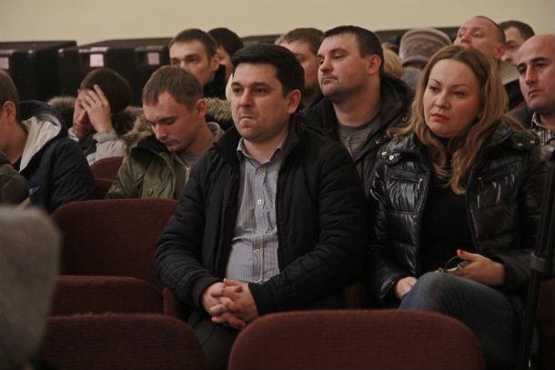 Среди публики — депутаты гордумы Светлана Данковская и Марат Сафиуллин Фото Анны Неволиной