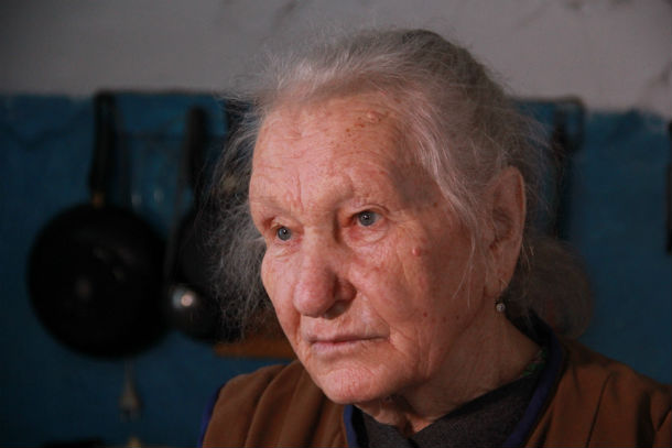 Мария Егоровна Волкова — хозяйка дома Фото Анны Неволиной