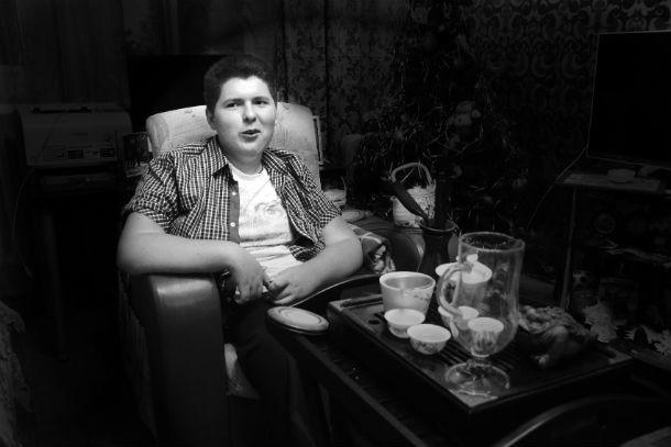 Илья Сорокин знает, что такое жизнь в инвалидном кресле. Диагноз — спинальная амиотрофия Верднинга-Гоффмана Фото Анны Неволиной