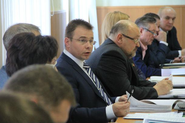 Депутат Андрей Углов