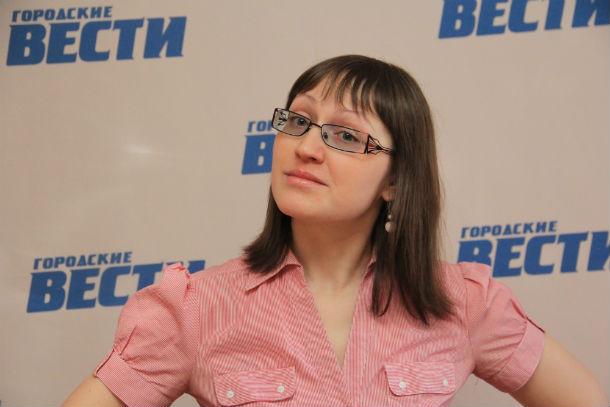 """Екатерина Каладжиди, PR-менеджер газеты """"городские вести"""" Фото Анны Неволиной"""